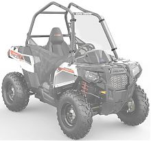 Стекло / K-L&R  FULL WINDSHIELD POLY 2879693